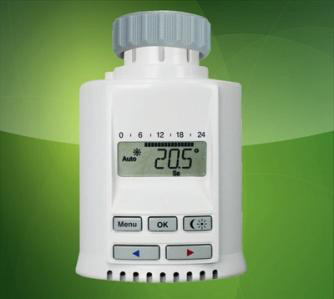 Risparmio Riscaldamento Valvole Termostatiche Digitali Base Wireless
