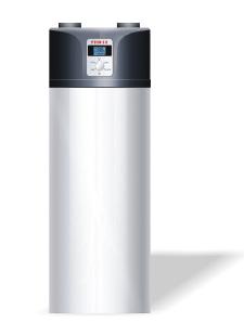 Scaldabagno pompa calore 200lt 2serpentine for Serbatoio di acqua calda in rame
